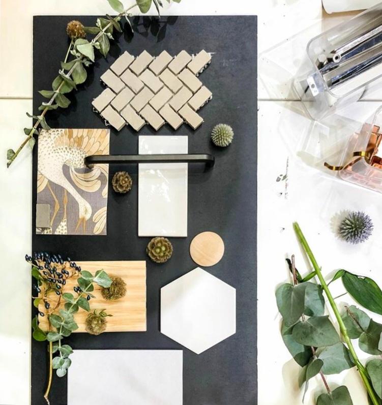Pintamateriaali ja värisuunnittelu kuuluu Hurmaava designin sisustuspalveluihin.