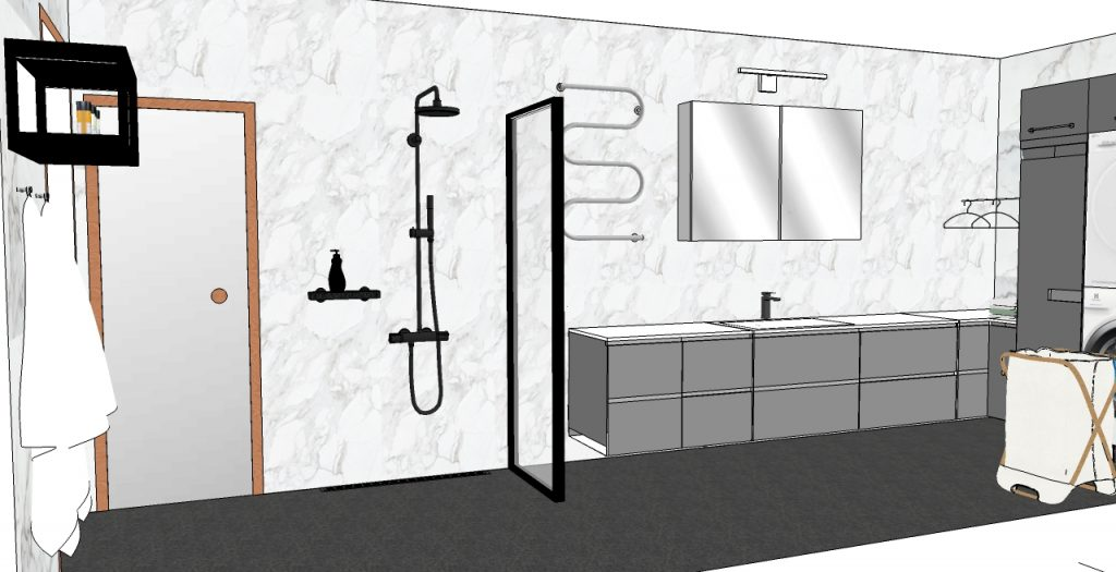 Paljonko kylpyhuonesuunnittelu maksaa.